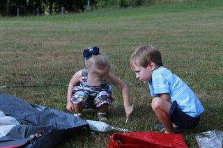 Camping at Granddaddy's and Grandma's 7-10 #2